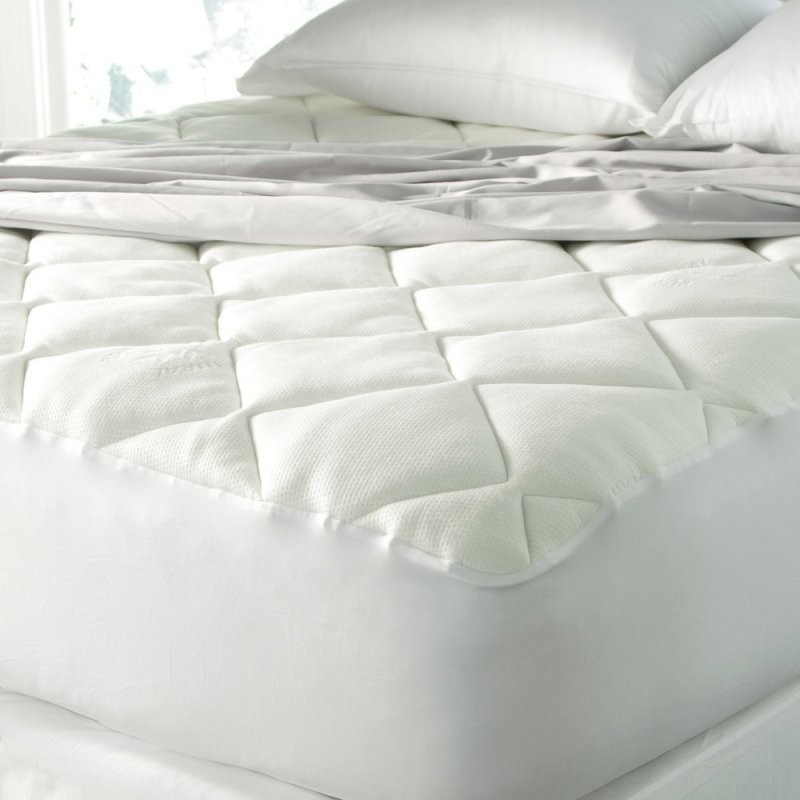 Spa Luxe Cool Touch Bamboo Mattress Pad