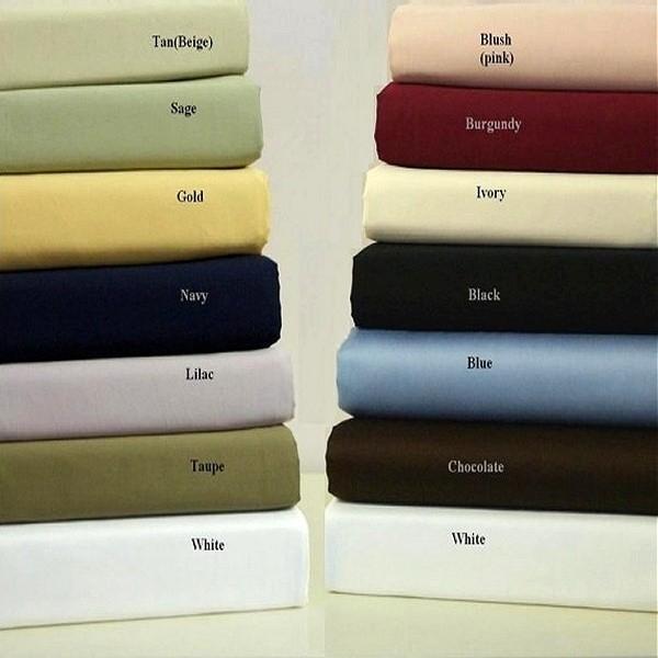 Egyptian Cotton 550 TC Single Ply Sheet Set - Queen Size