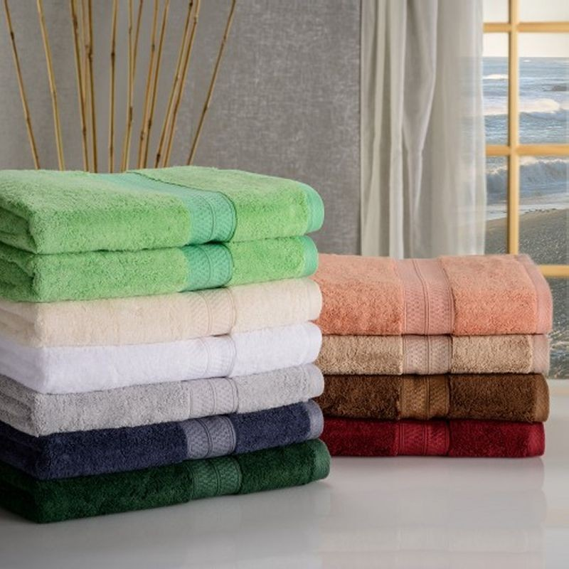Rayon from Bamboo 2-Piece Bath Towel Set