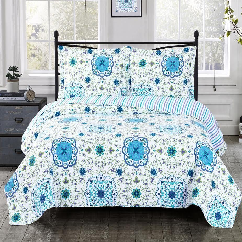 Arielle Oversize Coverlet Quilt Set
