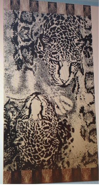Cheetahs Beach Towel
