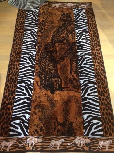Safari Print Beach Towel
