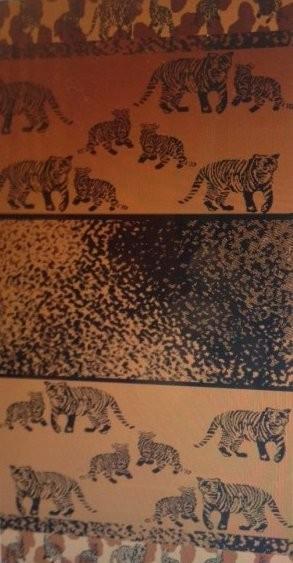 Tiger Print Beach Towel