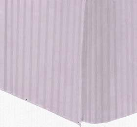Full Size Tailored Microfiber Bed Skirt - Stripes