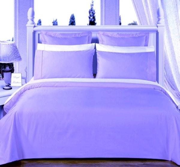 Egyptian Cotton 550TC Comforter Set - Light Blue