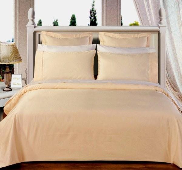 Egyptian Cotton 550TC Comforter Set - Ivory