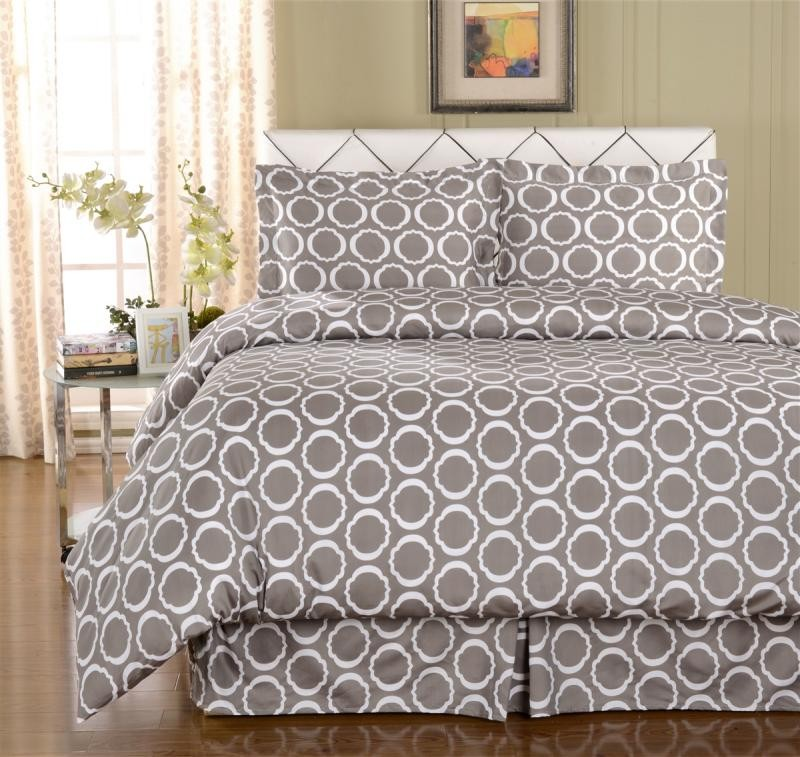Scroll Park Duvet Cover Sets 600 Thread Count