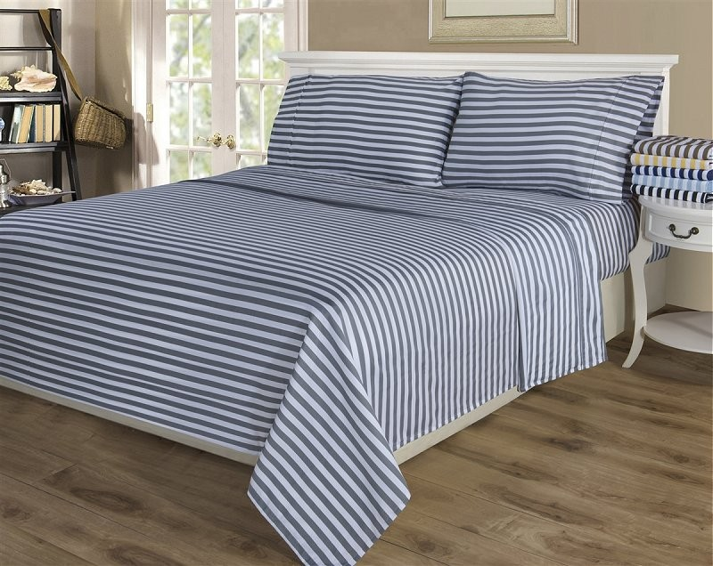 Full Size Cabana Stripe Sheet Sets