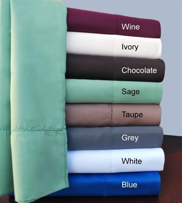 KIng Size Hem Stitch Sheet Sets