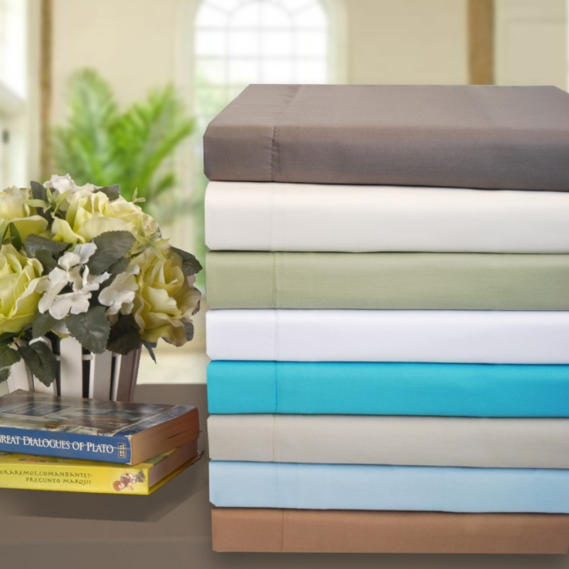Olympic Queen Sheet Sets Cotton Rich 600 Thread Count