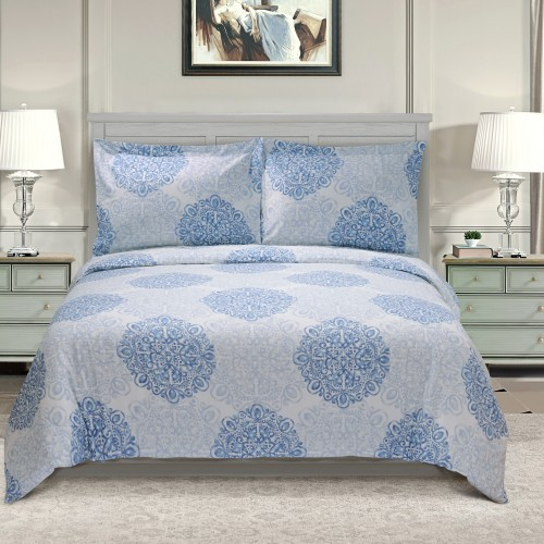 Crawford 300 Thread Count Cotton Duvet Cover Set