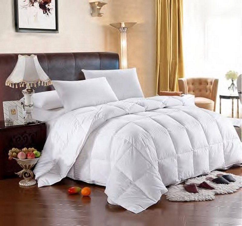 Goose Down Egyptian Cotton Comforter - Full / Queen Size