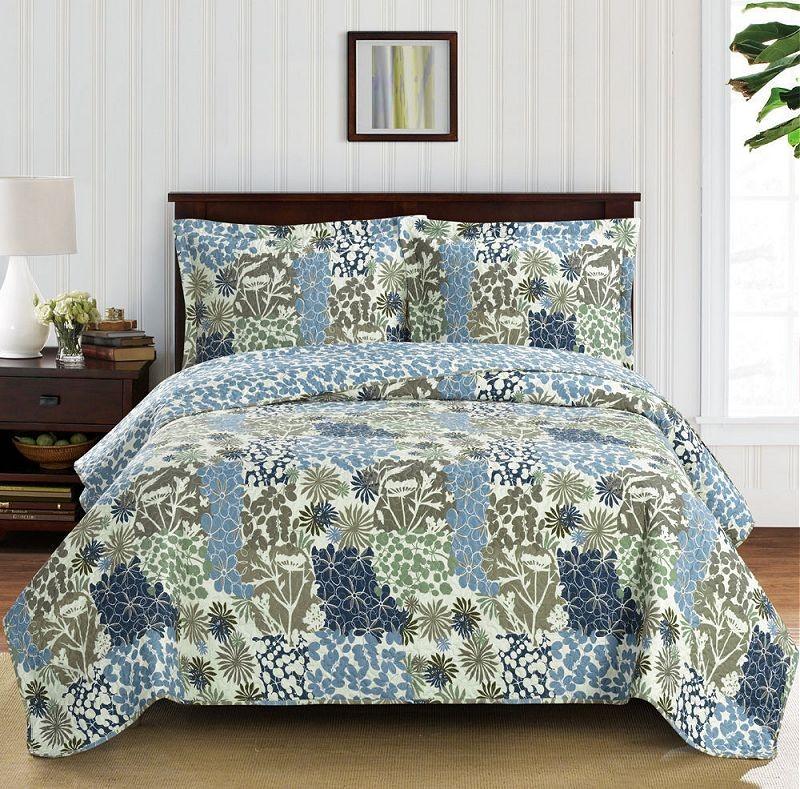 Elena Oversize Coverlet Quilt Set