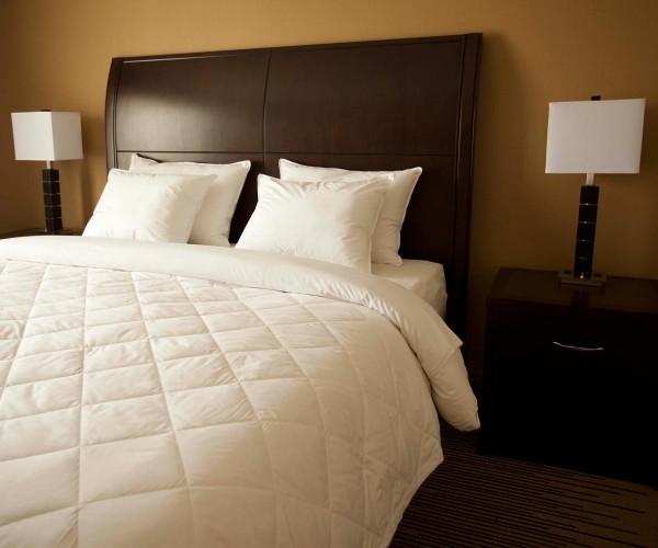 Diamond Stitch Hotel Down Blanket