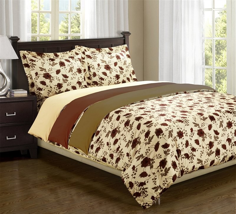 Elm Leaves Microfiber Duvet Cover Sets