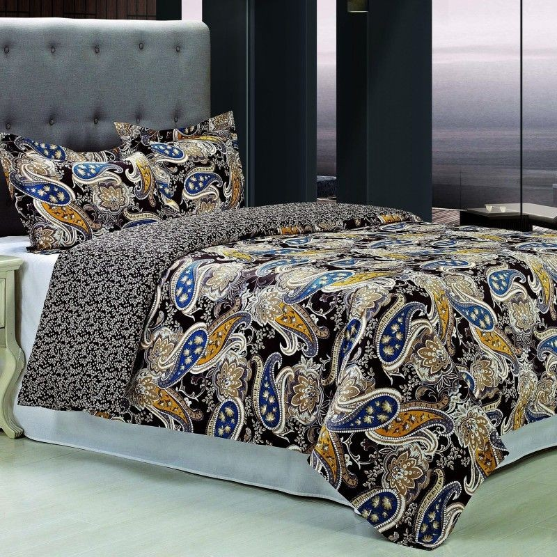 Midnight 300tc Cotton Duvet Cover Set
