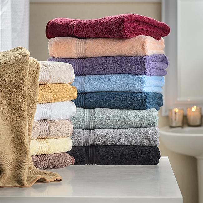 Egyptian Cotton 600 GSM Hand Towels - 8 PC Set