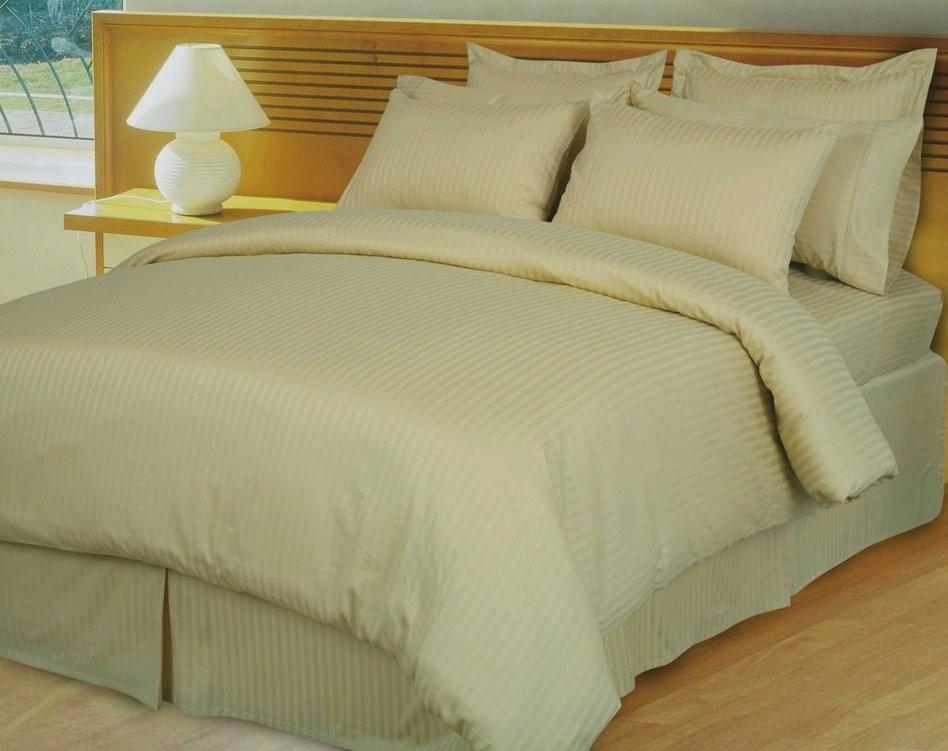 Egyptian Cotton 600TC Comforter Set - Beige