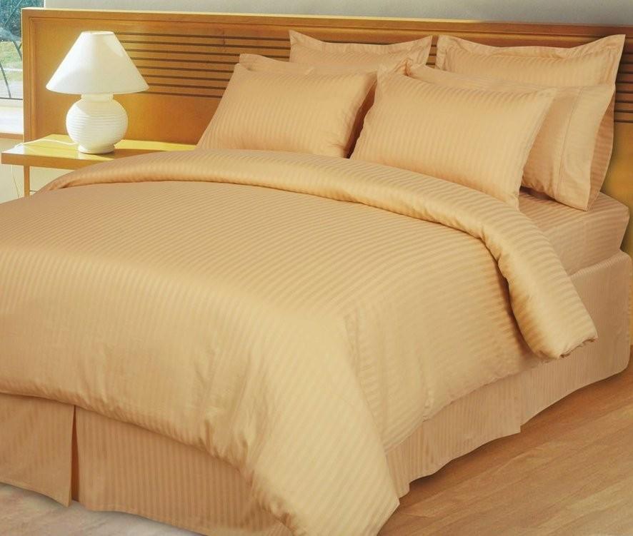 Egyptian Cotton 600TC Comforter Set - Gold