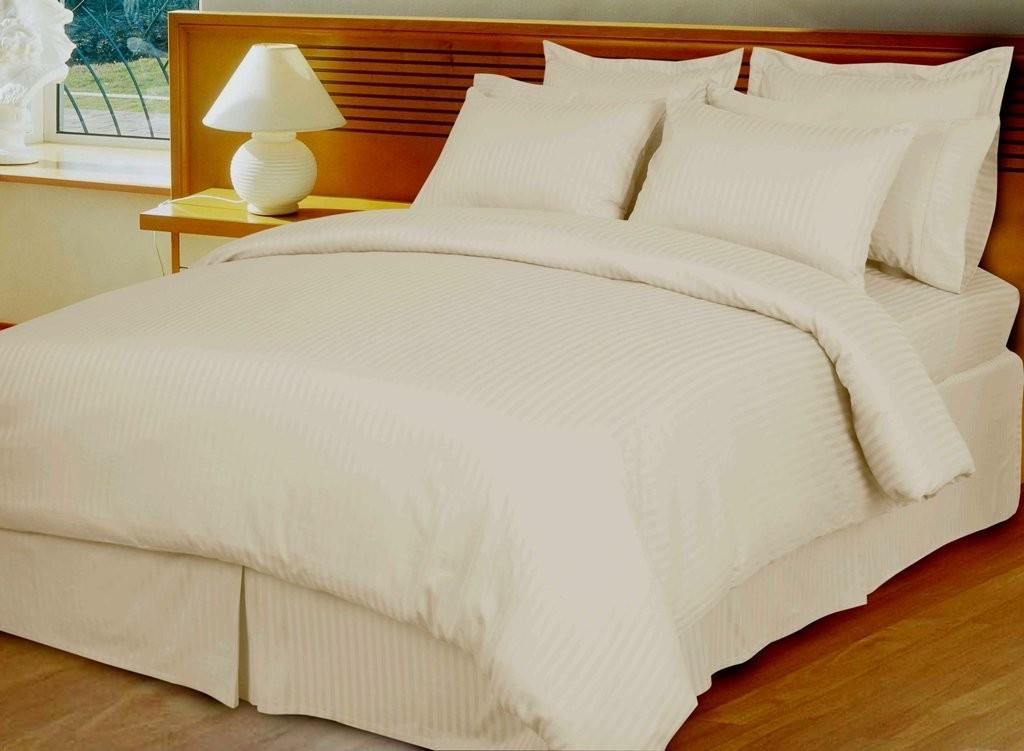 Egyptian Cotton 600TC Comforter Set - Ivory