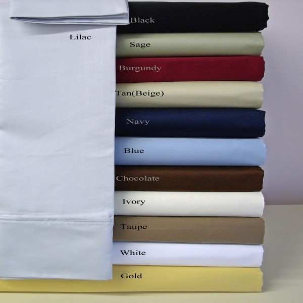 Split King Lightweight Microfiber Sheet Set