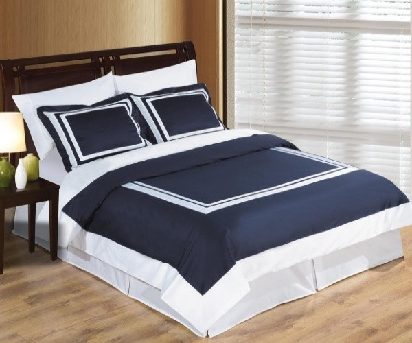 Hotel Duvet Cover Set 100% Egyptian Cotton - Twin/Twin XL