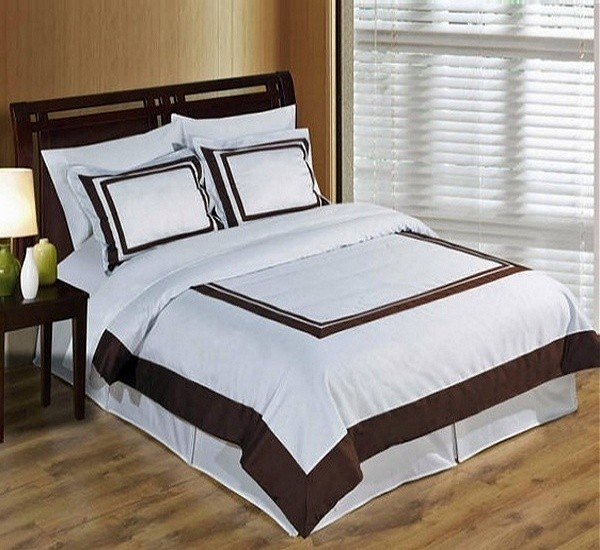 Hotel Duvet Cover Set 100% Egyptian Cotton - King/CalKing