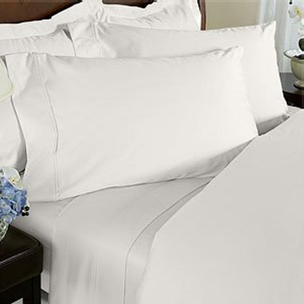 Wrinkle-Resistant Egyptian Cotton 300TC Sheet Set - Queen