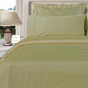 Twin XL Egyptian Cotton Comforter Set - Beige
