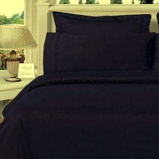 Twin XL Egyptian Cotton Comforter Set - Black