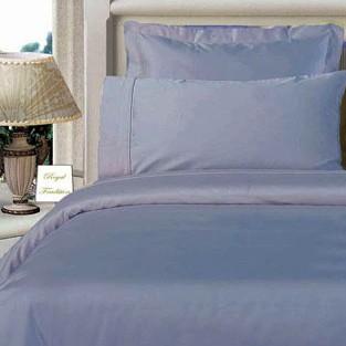 Twin XL Egyptian Cotton Comforter Set - Blue