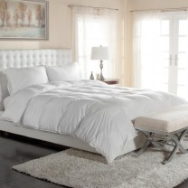 400 TC Silky Sateen PrimaLoft Comforters