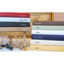 Full Size Sheet Set 530 TC Egyptian Cotton
