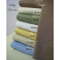 100% Bamboo Pillow Case Sets - King Size