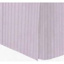 Full Size Tailored Microfiber Bed Skirt - Stripes