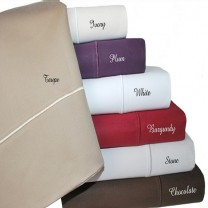 Full Size Cotton Sheet Set 1500 Thread Count