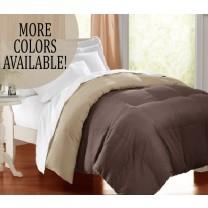 Twin XL Reversible Down Alternative Comforter