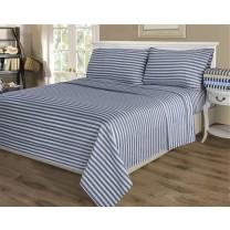 Queen Size Cabana Stripe Sheet Sets