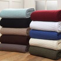 100% Cotton Diamond Blanket