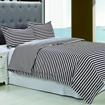 Keystone 300tc Cotton Duvet Cover Set