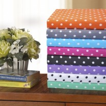 Polka Dot Twin XL Sheet Sets