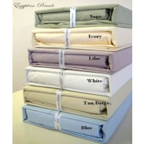 Queen Size Sheet Sets 100% Egyptian Cotton Percale