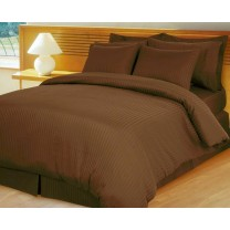 Egyptian Cotton 600TC Comforter Set - Chocolate
