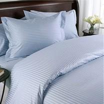Egyptian Cotton 600TC Comforter Set - Light Blue