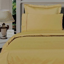 Twin XL Egyptian Cotton Comforter Set - Gold