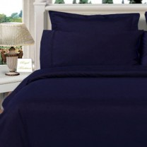 Twin XL Egyptian Cotton Comforter Set - Navy