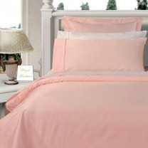 Twin XL Egyptian Cotton Comforter Set - Pink