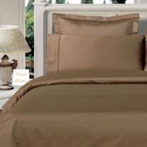 Twin XL Egyptian Cotton Comforter Set - Taupe