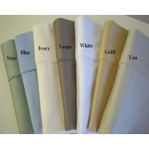 450 TC Egyptian Cotton Solid Pillow Cases - King Size