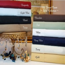 Twin XL Sheet Set 530 TC Egyptian Cotton